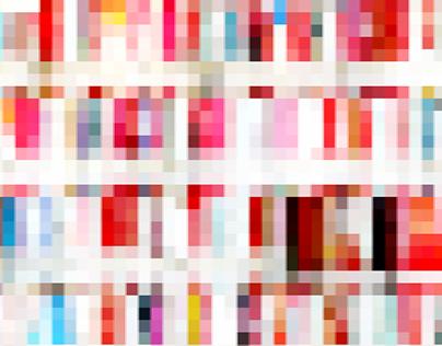 深圳图书馆的色彩可视化
