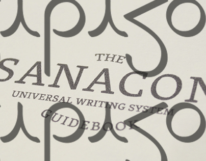 Sanacon writing system