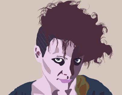 Portrait Pop Art - Digital painting