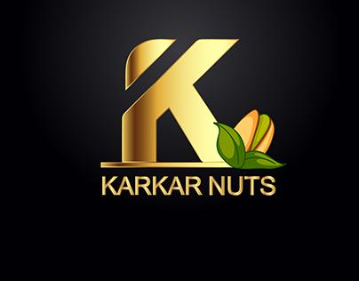 Logo ( karkar Nuts )