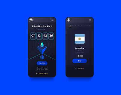 Ethernal Cup - UI / UX Design