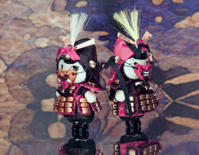 Master of Universe: Doll Jewelry: Samurais