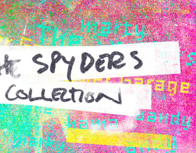 The Spyders - Collection. Vinyl LP and Singles.