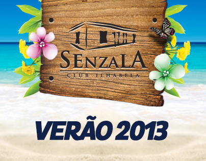Flyers Senzala Club - Ilha Bela