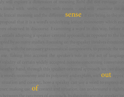 Making Sense Out of Meaning