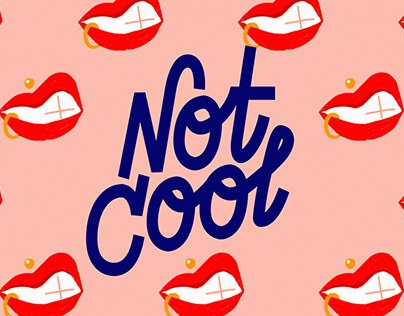 NOT COOL - Animated Typography