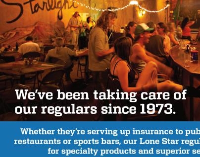 Insurance Company Print Ads