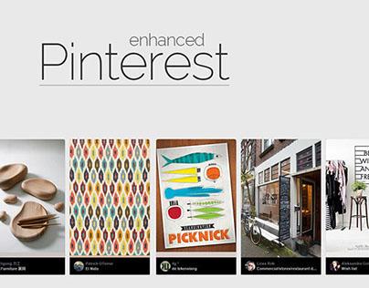 Pinterest Enhanced - Chrome Extension
