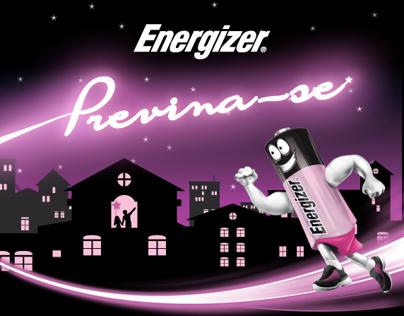 Energizer Pilhas Rosas - Outubro Rosa