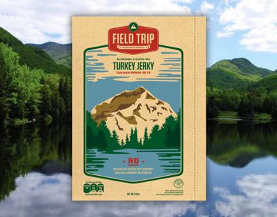 Field Trip Jerky Packaging