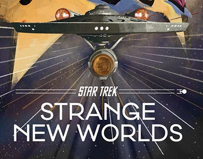 Star Trek Strange New Worlds Fan Art illustration