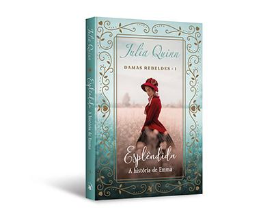 """Cover design of """"Esplêndida: a história de Emma"""""""