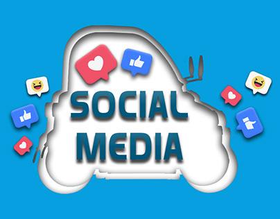 CHOK CAR - social media