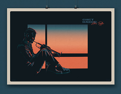 Jazz Poster - Chet Baker