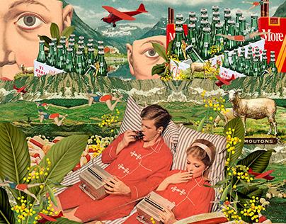 collage: días de insomnio.