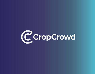 CropCrowd- logo/Branding and Landing page