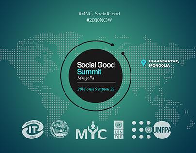 Social Good Summit Branding 2014