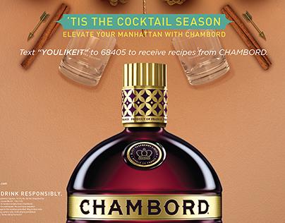 Chambord Cocktail Season Visuals