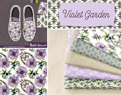 Violet Garden textile Design