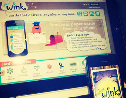 justWink Mobile & Web