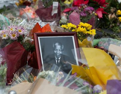 Saying goodbye to Nelson Mandela