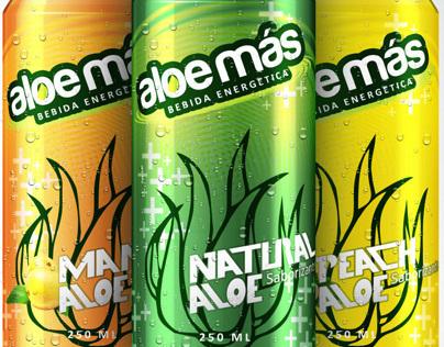 ALOE MAS - Aloe Vera Energy Drink