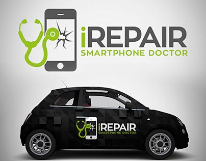 Smartphone Repair Logo Template