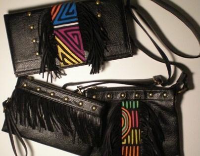 Handbag Line;original designs; Panamanian inspired