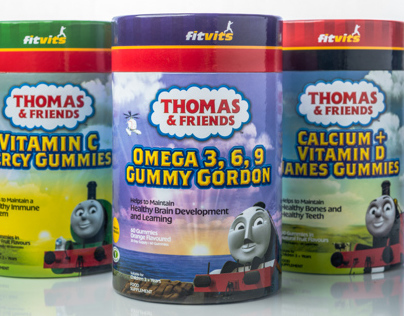 Thomas & Friends Gummy Vitamins