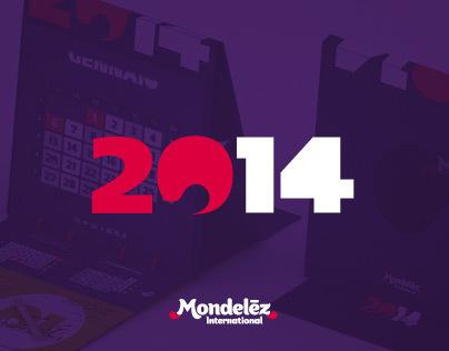 Mondelēz ~  Calendar 2014