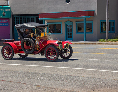 Antique Car Outing