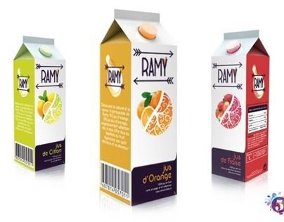Packaging juice Ramy