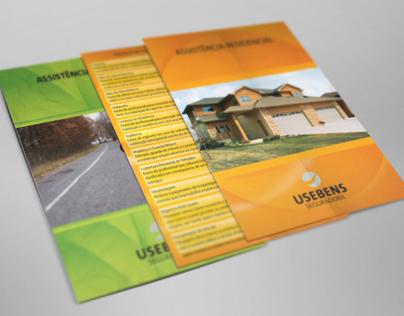 Flyers Usebens Seguradora/ Insurance