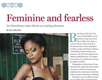 """Feminine & Fearless"""