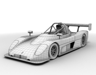 Radical SR8 Car Design