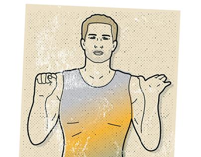 Instructional exercise illustration