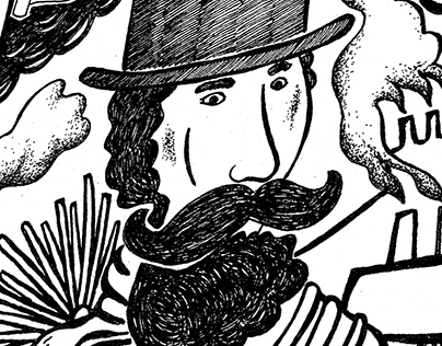 The Legion of Men With Mustaches Throughout History