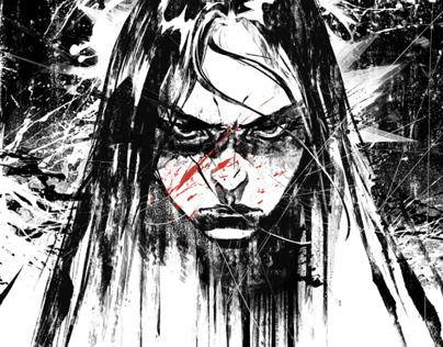 Kiss of vengeance, short film Illustrations