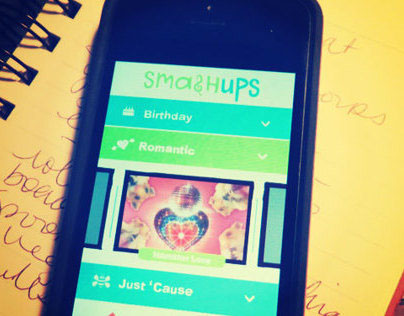 Ideation Project - Smash Ups Mobile