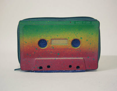 Cassette Tape Wallets by TAPER
