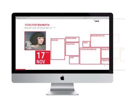 Stuttgart Kunstmuseum Website Redesign