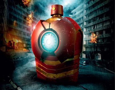 Marvel Fragrances Concept