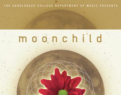 Moonchild gig poster