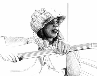 Marjorie & Guitar