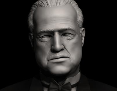 Zbrush Likeness - The Godfather