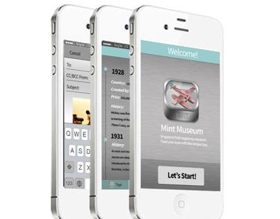 Mint Museum Mobile Application Design
