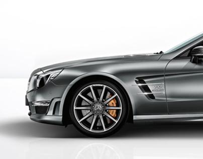 Mercedes-Benz SL Class Flash site