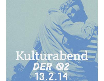 Kulturabend Poster