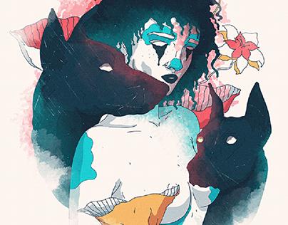 Psychological art - illustrations