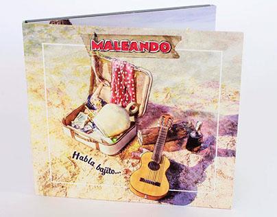 """Art Direction / Design/ Photos Record disk """"Maleando"""""""